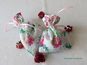 Шьем ароматические мешочки-саше для отдушки белья   Ярмарка Мастеров - ручная работа, handmade