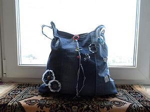 Мастер-класс по созданию пляжной сумки в стиле ганж   Ярмарка Мастеров - ручная работа, handmade