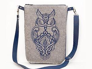 Шьем сумку из войлока. Ярмарка Мастеров - ручная работа, handmade.