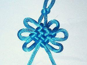 Завязываем «Мистический узел» (Pan Chang Knot, ), handmade