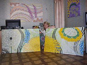 Рисуем огромные картины на холсте. Ярмарка Мастеров - ручная работа, handmade.