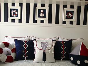 Оформление детской комнаты в морском стиле | Ярмарка Мастеров - ручная работа, handmade