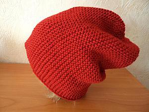 Как вязать шапка бини спицами