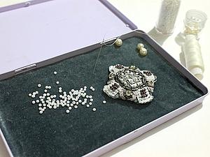 Мастер-класс коробочки для работы с бисером.. Ярмарка Мастеров - ручная работа, handmade.