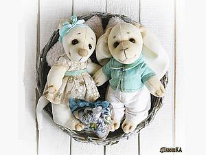 Мастер-класс: свадебная парочка игрушек своими руками | Ярмарка Мастеров - ручная работа, handmade