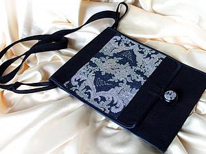 Шьем сумку для весенних прогулок с планшетом. Ярмарка Мастеров - ручная работа, handmade.