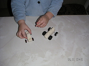 Лепим машинку из соленого теста. Ярмарка Мастеров - ручная работа, handmade.