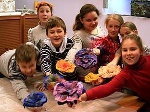 Мастер-класс по созданию фантазийной брошки цветочка   Ярмарка Мастеров - ручная работа, handmade