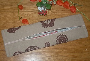 Делаем пенал для хранения спиц. Ярмарка Мастеров - ручная работа, handmade.