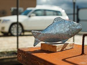 Создаем металлическую рыбу в стиле индустриального дизайна. Ярмарка Мастеров - ручная работа, handmade.