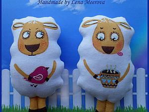 Забавные овечки — легко и быстро. Ярмарка Мастеров - ручная работа, handmade.