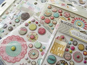 Обзор декоративных элементов и мини-конфетка | Ярмарка Мастеров - ручная работа, handmade