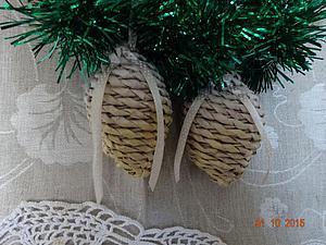 Плетение рождественского венка. Часть 3. Ярмарка Мастеров - ручная работа, handmade.