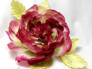 Цветы из шёлка.Мастер-класс.Роза Орнелла. | Ярмарка Мастеров - ручная работа, handmade