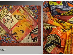 Создаем шелковый платок. Ярмарка Мастеров - ручная работа, handmade.