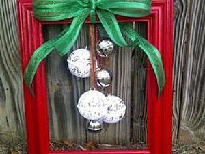 Новогодний декор | Ярмарка Мастеров - ручная работа, handmade