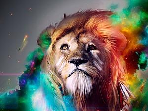 Безграничная щедрость львов | Ярмарка Мастеров - ручная работа, handmade