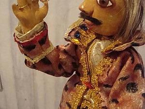 Как сделать куклу из соленого теста. Ярмарка Мастеров - ручная работа, handmade.