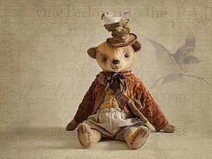 Мишка Апрель! Солнышка лучик! | Ярмарка Мастеров - ручная работа, handmade