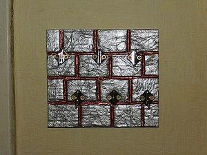 МК ключница на кирпичной стене | Ярмарка Мастеров - ручная работа, handmade