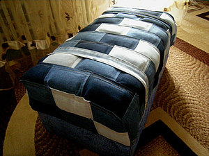 Полезная утилизация старых джинсов.. Ярмарка Мастеров - ручная работа, handmade.