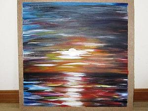 Легко и быстро рисуем картину по мотивам Л. Афремова. Ярмарка Мастеров - ручная работа, handmade.