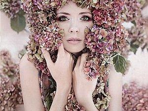 Весна одетая цветами | Ярмарка Мастеров - ручная работа, handmade