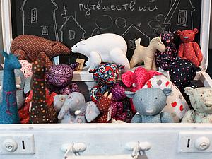 Чемодан с игрушками | Ярмарка Мастеров - ручная работа, handmade