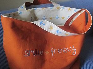 пляжная сумка | Ярмарка Мастеров - ручная работа, handmade