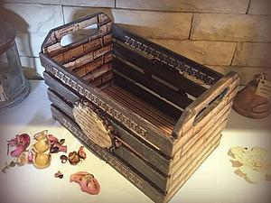 Мастер-класс: кухонный ящик под старину. Ярмарка Мастеров - ручная работа, handmade.