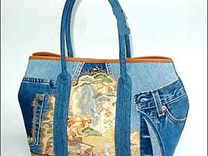 сумки джинсовые | Ярмарка Мастеров - ручная работа, handmade