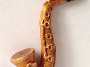 Лепим саксофон для сверчка | Ярмарка Мастеров - ручная работа, handmade