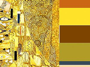 Цветовые палитры Густава Климта   Ярмарка Мастеров - ручная работа, handmade