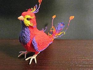 Делаем очаровательных райских птичек из бархатного пластика | Ярмарка Мастеров - ручная работа, handmade
