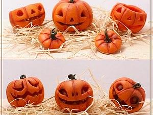 МК к Хэллоуину «Джек – тыквенная голова. Полые формы» | Ярмарка Мастеров - ручная работа, handmade