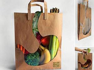 Креативные бумажные пакеты | Ярмарка Мастеров - ручная работа, handmade