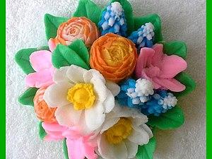 Скидка 8% на цветы из мыла | Ярмарка Мастеров - ручная работа, handmade