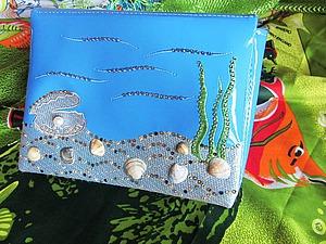Делаем клатч с кристаллами Swarovski. Ярмарка Мастеров - ручная работа, handmade.