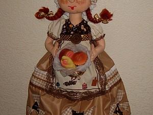 МК кукла-пакетница | Ярмарка Мастеров - ручная работа, handmade