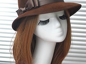 Мастер-класс по изготовлению шляпки из фетра   Ярмарка Мастеров - ручная работа, handmade
