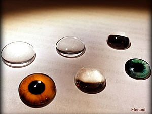 Ко мне приехали стеклянные кабошоны для глаз!   Ярмарка Мастеров - ручная работа, handmade
