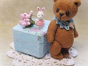 Аукцион с 0 . Миниатюрный мишка. | Ярмарка Мастеров - ручная работа, handmade