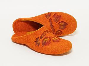Мастер-класс по мокрому валянию домашней обуви Алеси Исмагиловой   Ярмарка Мастеров - ручная работа, handmade