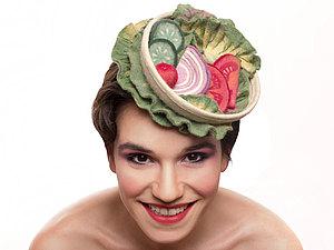 На закуску! Невероятные шляпки Maor Zabar | Ярмарка Мастеров - ручная работа, handmade