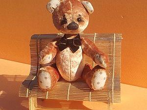 Скамейка для игрушек и кукол.. Ярмарка Мастеров - ручная работа, handmade.