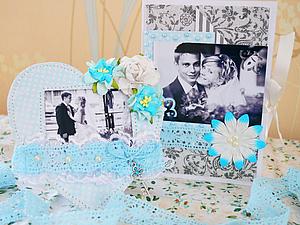 Открытка и рамочка для любимого мужа | Ярмарка Мастеров - ручная работа, handmade