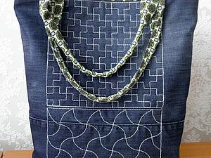 Шьем джинсовую сумочку. Ярмарка Мастеров - ручная работа, handmade.
