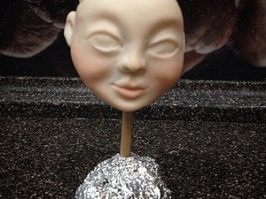 Видео мастер-класс: лепка головы куклы. Ярмарка Мастеров - ручная работа, handmade.