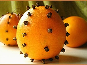 Помандер- ароматный апельсин для уюта в доме) | Ярмарка Мастеров - ручная работа, handmade