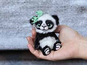 Мастер-класс по мини-мишке | Ярмарка Мастеров - ручная работа, handmade